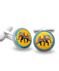Elephant Cufflinks - 098_09488 - Halcyon Days