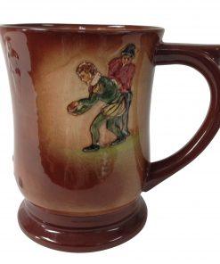 Airbrushed Drake Bowling Tankard - Royal Doulton Kingsware