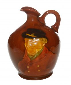 Kingsware Huntsman Dewar's Jug Commemorating the coronation of King George V and Queen Mary - Royal Doulton Kingsware