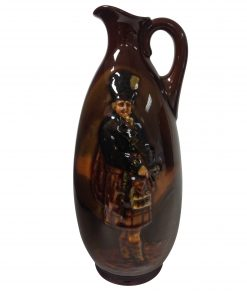 "Kingsware Bottle ""The Macnab"" - Royal Doulton Kingsware"