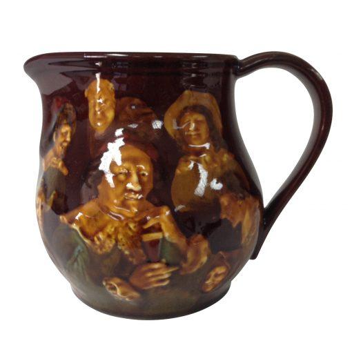 Kingsware Memories Pitcher - Royal Doulton Kingsware