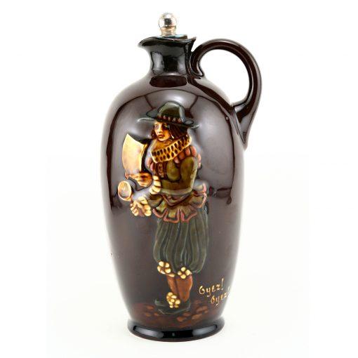 Kingsware Bottle Oyez! Oyez! - Royal Doulton Kingsware