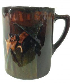 Kingsware Pied Piper Demitasse Cup - Royal Doulton Kingsware
