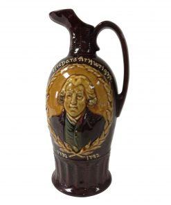 Kingsware Richard Arkwright Bottle - Royal Doulton Kingsware