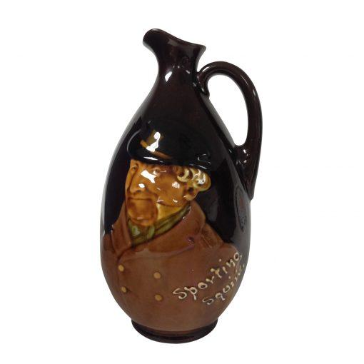 Kingsware Bottle Sporting Squire - Royal Doulton Kingsware