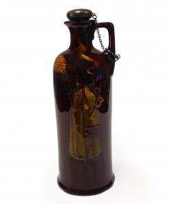 Kingsware Wizard Bottle - Royal Doulton Kingsware