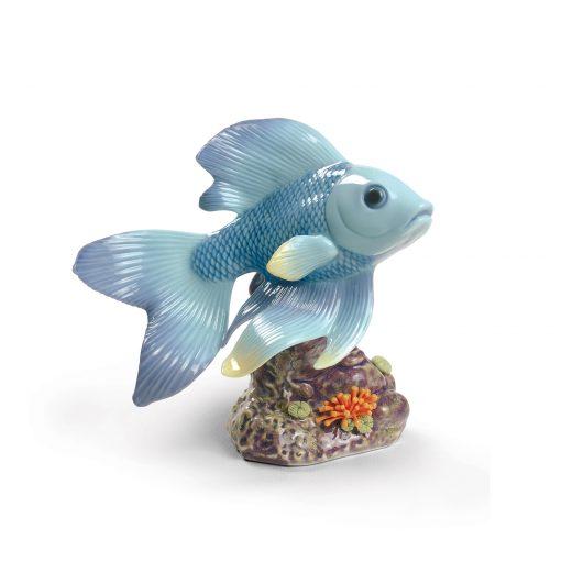 Pond Dreamer Blue 1009141 - Lladro Figure