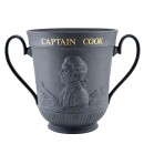 Captain Cook Basalt Loving Cup - Royal Doulton Loving Cup