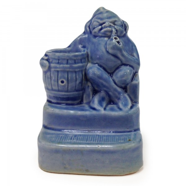 Blue Matchstriker with Seated Simeon Figure SF4 - Simeon Toby