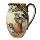 Gleaners and Gypsies Pitcher - Royal Doulton Seriesware