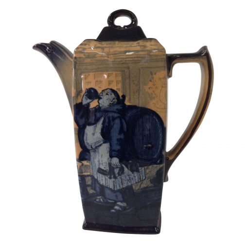 Monks in the Cellar Coffee Pot - Royal Doulton Seriesware