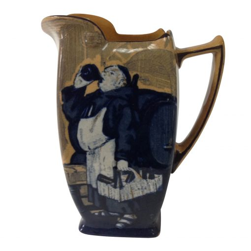 Monks in the Cellar Pitcher - Royal Doulton Seriesware
