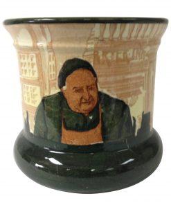 Monks in the Cellar Planter Pot - Royal Doulton Seriesware