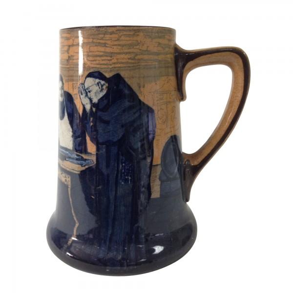 Monks in the Cellar Tankard - Royal Doulton Seriesware