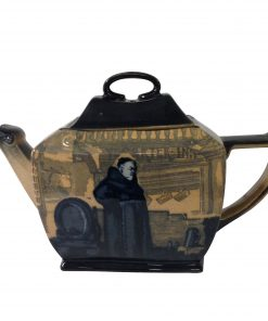 Monks in the Cellar Teapot - Royal Doulton Seriesware