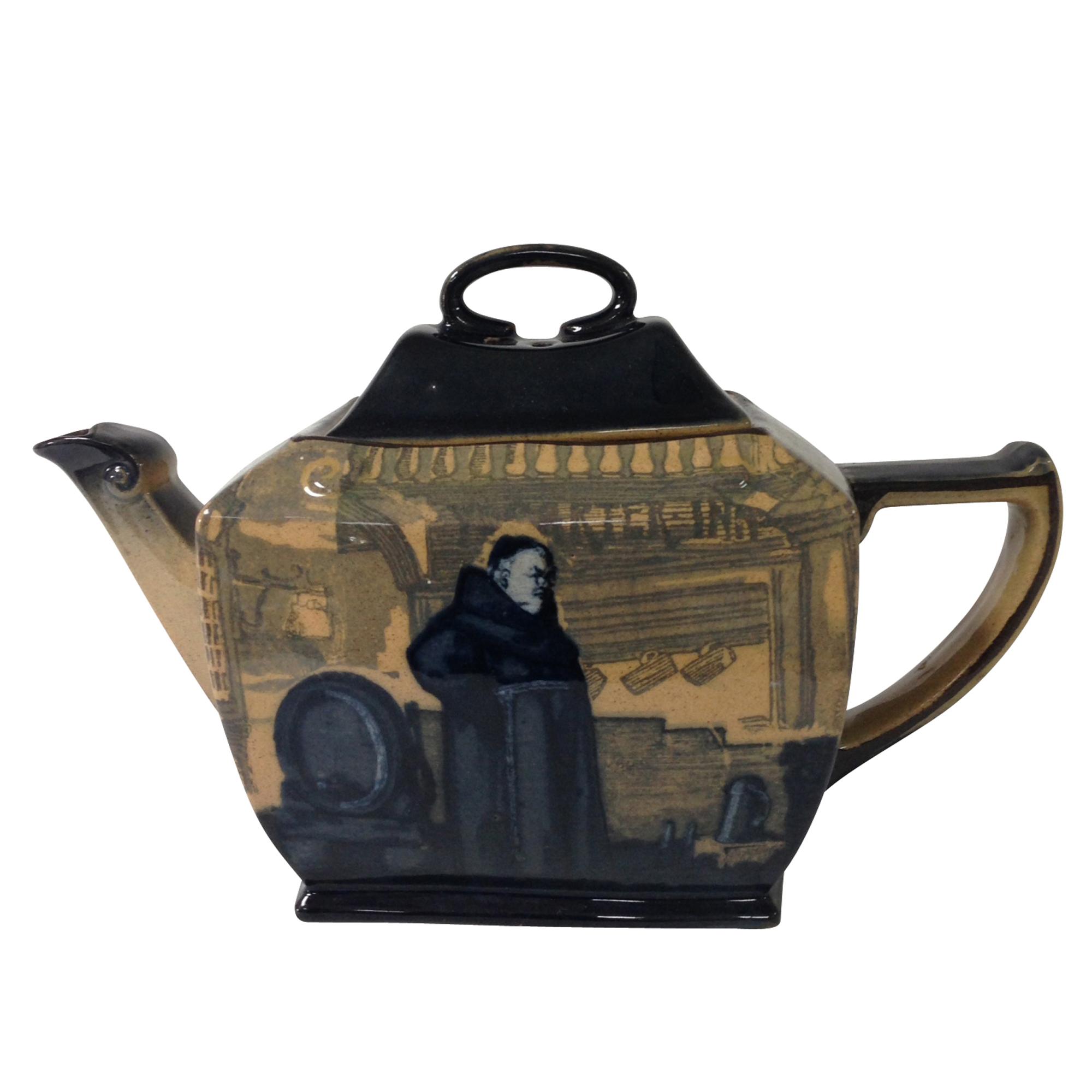 Monks in the Cellar Teapot - Royal Doulton Seriesware