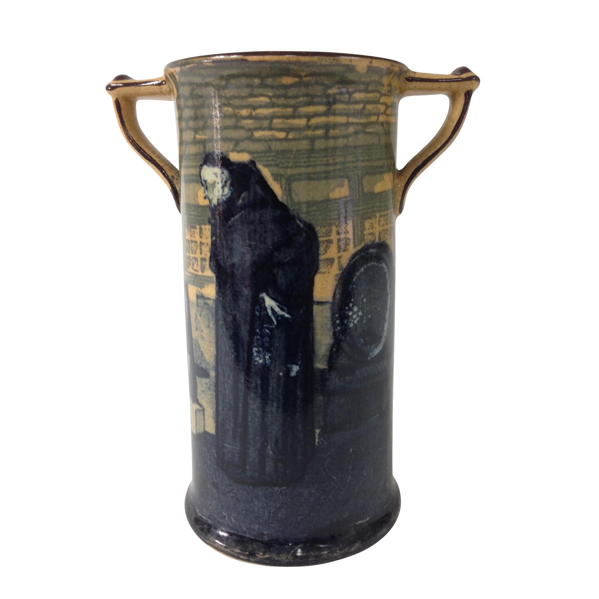 Monks in the Cellar Vase - Royal Doulton Seriesware