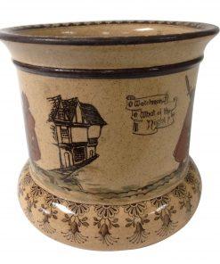 Night Watchman Planter Pot - Royal Doulton Seriesware