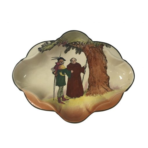 "Robin Hood ""Under the Greenwood Tree"" Oval Tray - Royal Doulton Seriesware"