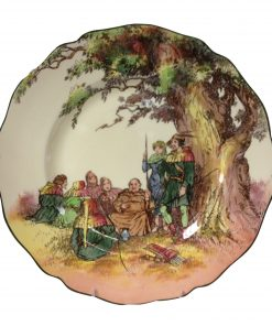 "Robin Hood ""Under the Greenwood Tree"" Plate - Royal Doulton Seriesware"