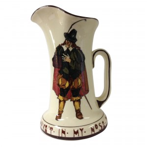Shakespeare Sir Andrew Aguecheek Pitcher - Royal Doulton Seriesware