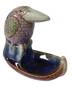 Doulton Lambeth Stoneware Bibelot Character Bird on Boat Kookaburra on Boat