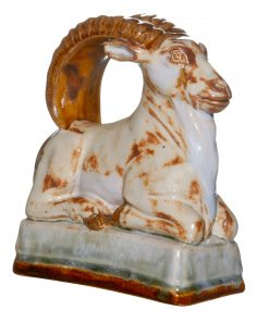 Royal Doulton Stoneware Ibex Ram Seated