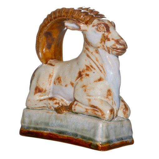 Royal Doulton Stoneware Ibex Ram Seated