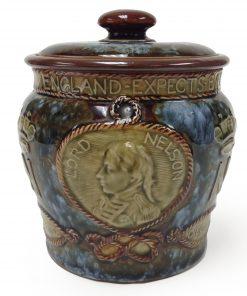 Royal Doulton Stoneware Lord Nelson Tobacco Jar