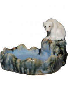Doulton Lambeth Polar Bear Bibelot