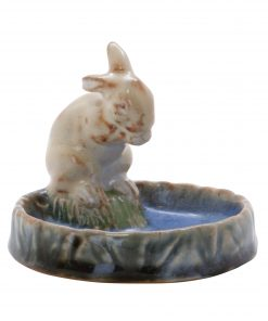 Doulton Lambeth Bibelot - White Rabbit