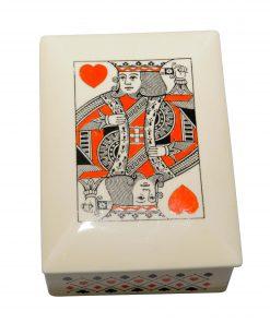 Bridge Playing Card Lidded Box - Royal Doulton