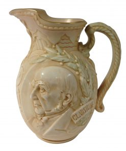 William Gladstone Vellum Pitcher - Royal Doulton