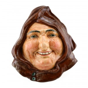 Friar of Orders Grey Wall Mask HN1733 - Royal Doulton
