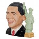 President Barack Obama Large Character Jug 2