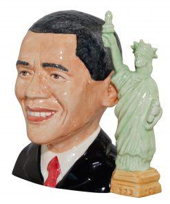 President Barack Obama Large Character Jug