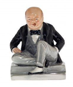 Winston Churchill Figure