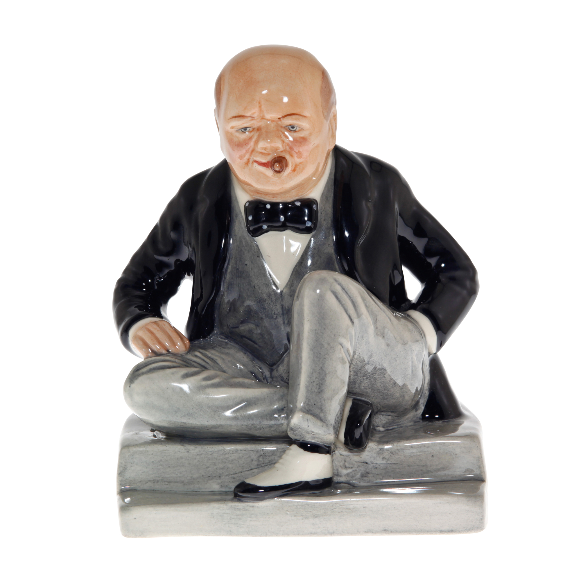 "Winston Churchill Figure ""Man of the Century Centenary Club"""