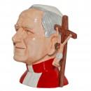 Pope John Paul II Prototype Large Character Jug 2