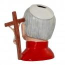 Pope John Paul II Prototype Large Character Jug 4