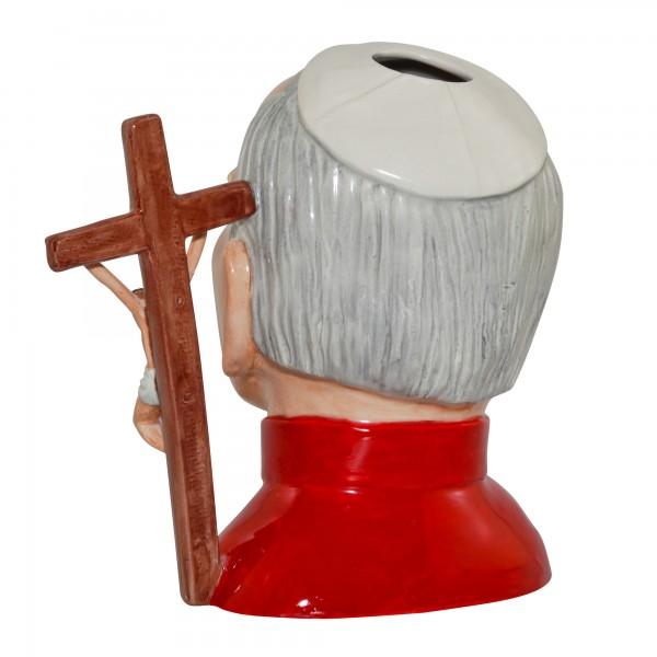 Pope John Paul II Prototype Large Character Jug