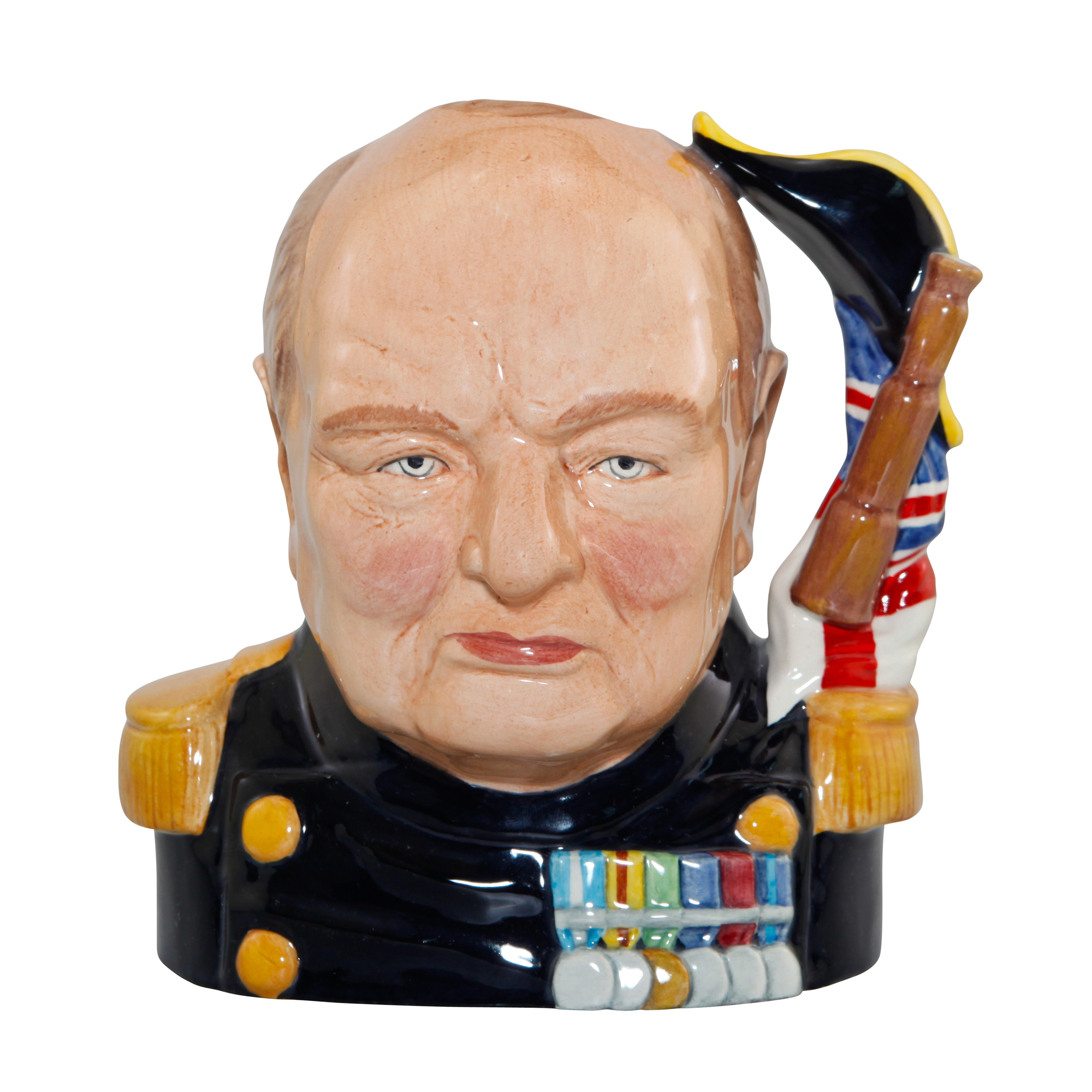Winston Churchill 'Life and Times' Character Jug
