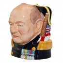 Winston Churchill 'Life and Times' Character Jug 2
