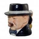 "Winston Churchill ""Yalta Tea Party"" Character Jug 2"