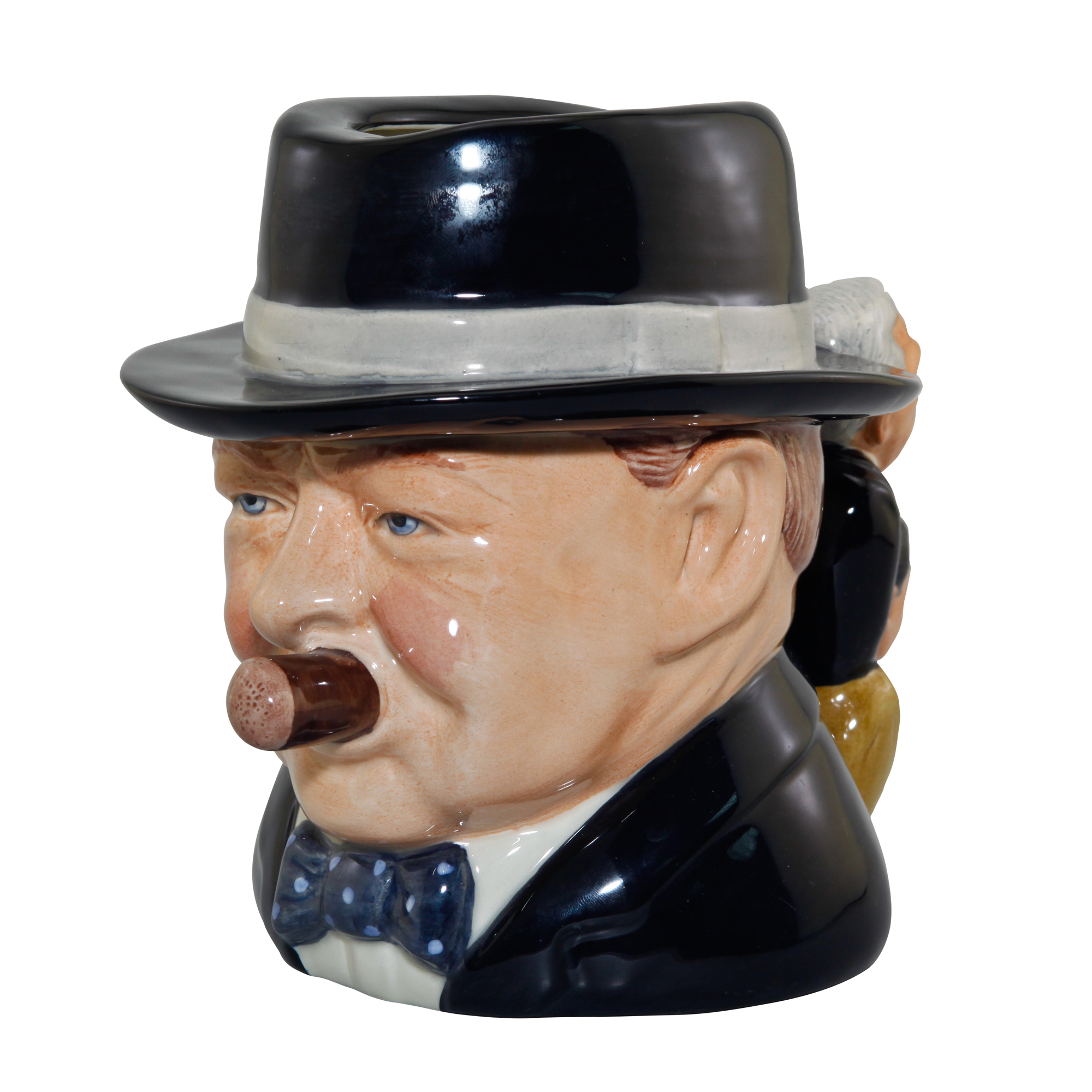 "Winston Churchill ""Yalta Tea Party"" Character Jug"