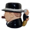 "Winston Churchill ""Yalta Tea Party"" Character Jug 3"