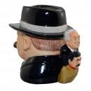 "Winston Churchill ""Yalta Tea Party"" Character Jug 4"