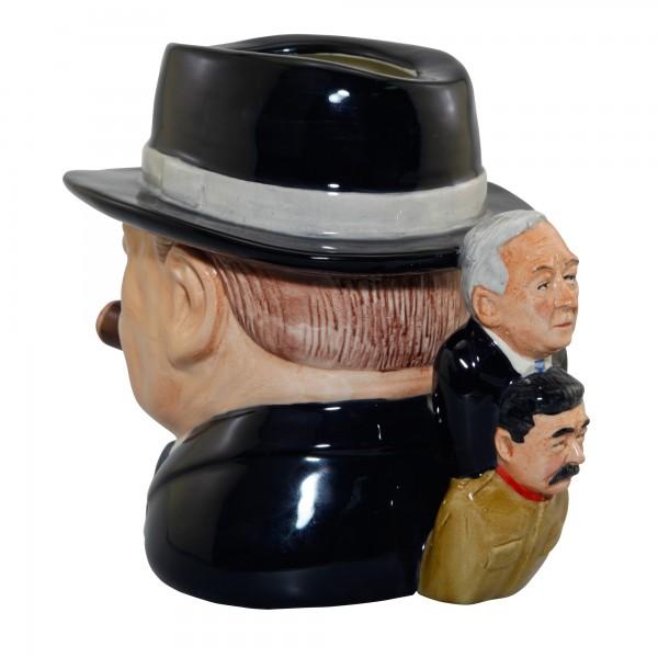 "Winston Churchill ""Yalta Tea Party"" Character Jug"