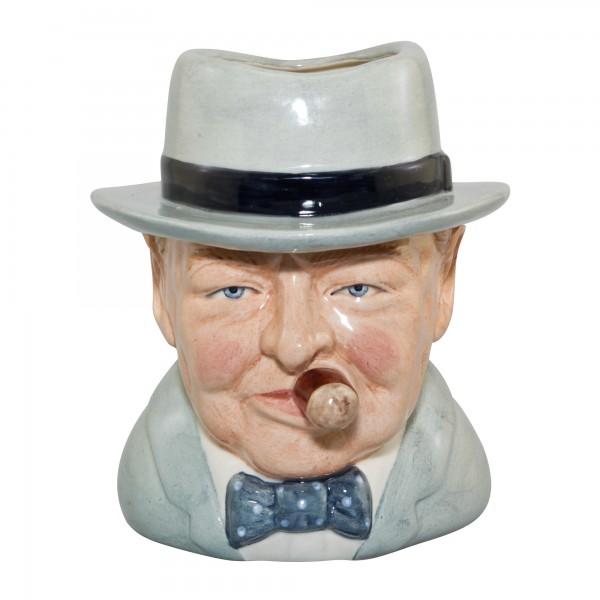 "Winston Churchill ""Yalta"" Character Jug"