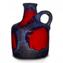 Lava Jug Red Blue 010